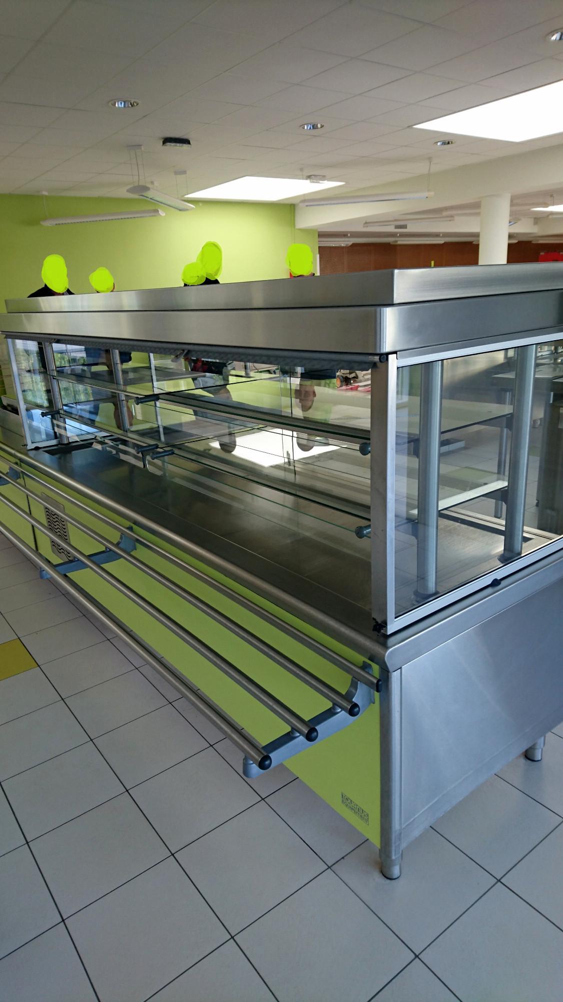 Ligne de self service equipement de cuisine d 39 occasion for Materiel de cuisine en ligne