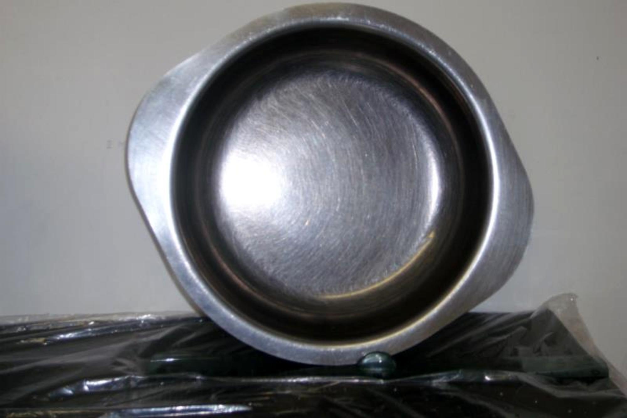 Plat rond creux 20cm en inox equipement de cuisine d for Plat cuisine inox