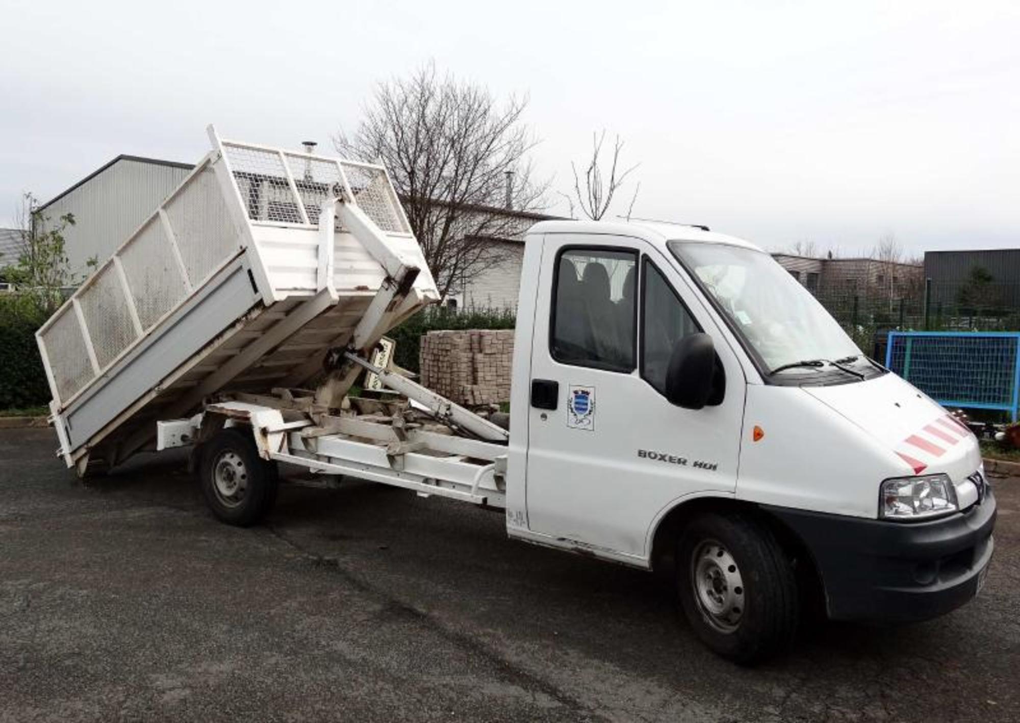 Peugeot boxer camion polybenne v hicule espace vert d for Espace vert 95