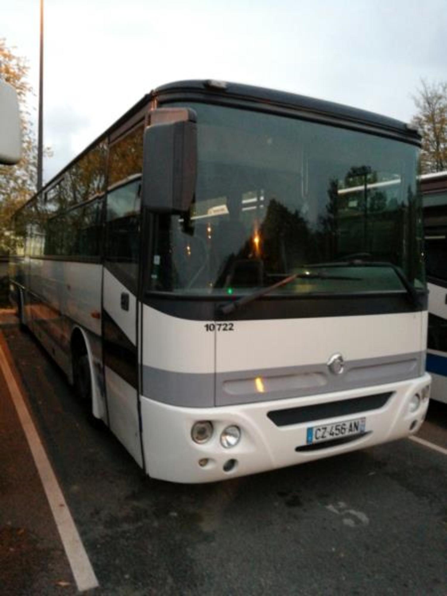 irisbus axer 10722 car bus d 39 occasion aux ench res agorastore. Black Bedroom Furniture Sets. Home Design Ideas