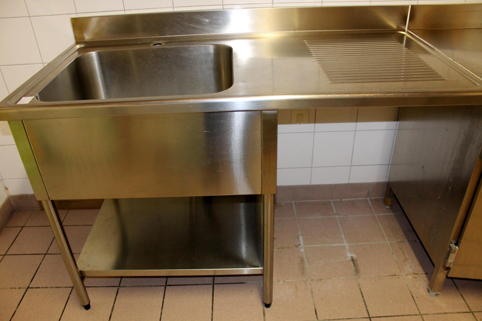 Plonge equipement de cuisine d 39 occasion aux ench res - Aide cuisine collectivite ...