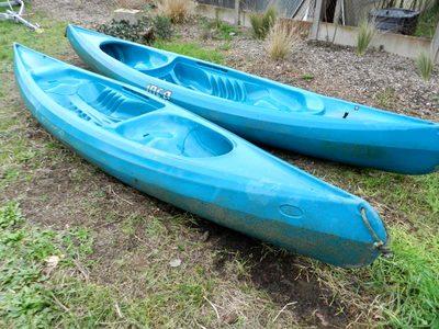 canoe de riviere bi place sport d 39 occasion aux ench res. Black Bedroom Furniture Sets. Home Design Ideas
