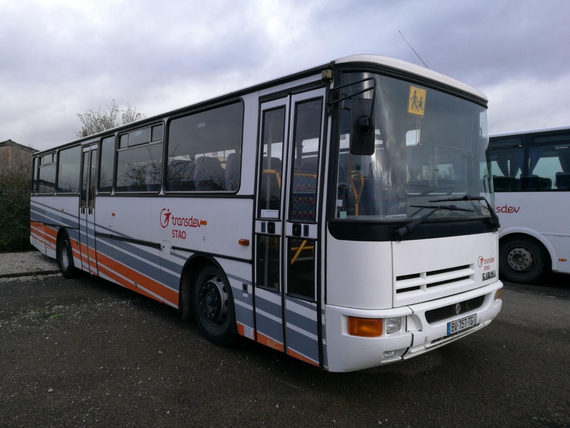 karosa recreo 6639 car bus d 39 occasion aux ench res agorastore. Black Bedroom Furniture Sets. Home Design Ideas