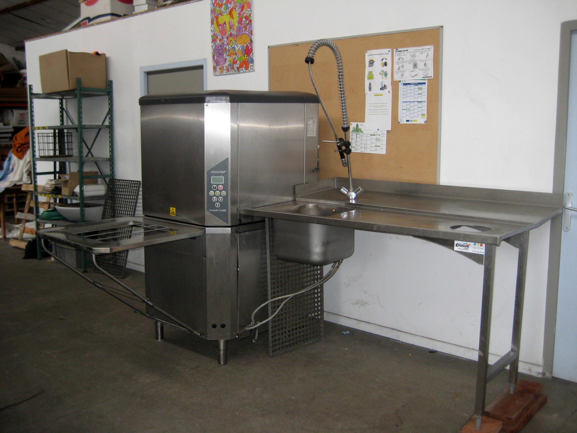 lave vaisselle granuldisk gd112 equipement de cuisine d 39 occasion aux ench res agorastore. Black Bedroom Furniture Sets. Home Design Ideas