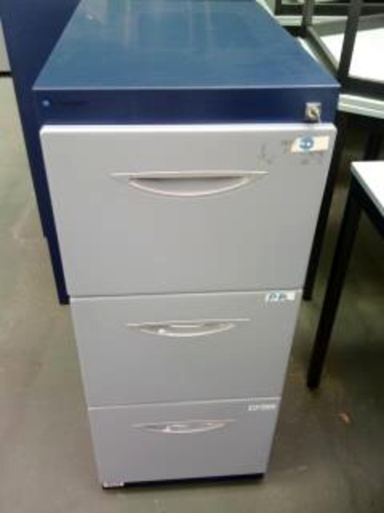 caisson 3 tiroirs pour dossiers suspendus rangement d. Black Bedroom Furniture Sets. Home Design Ideas