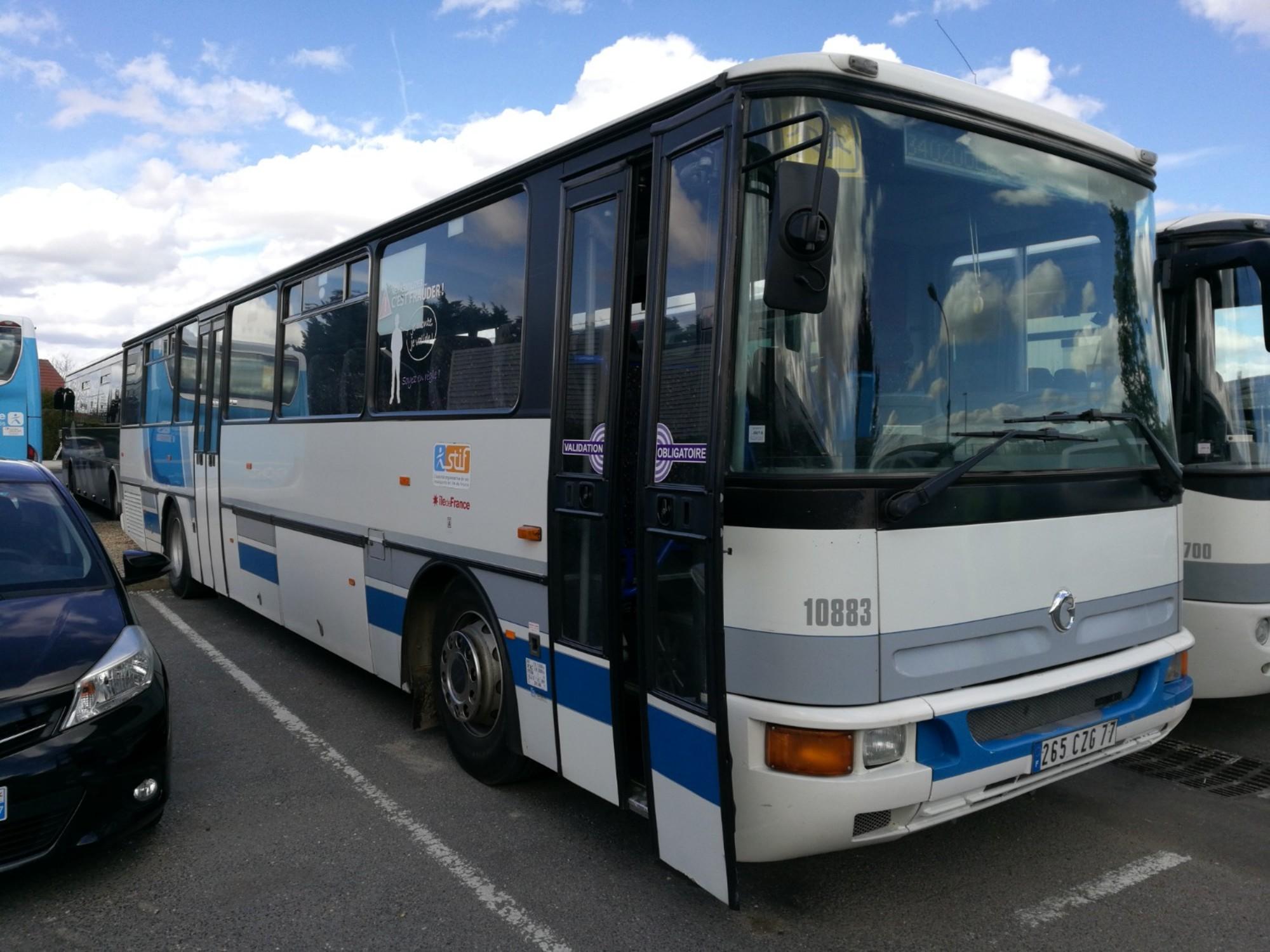 karosa recreo 10883 car bus d 39 occasion aux ench res. Black Bedroom Furniture Sets. Home Design Ideas