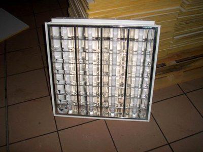 pav lumineux pour faux plafond mat riaux ferrailles d 39 occasion aux ench res agorastore. Black Bedroom Furniture Sets. Home Design Ideas