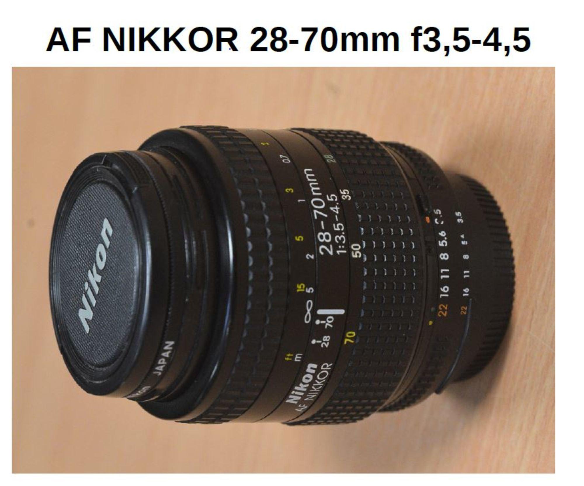 objectif af nikon 28 70mm video son d 39 occasion aux ench res agorastore. Black Bedroom Furniture Sets. Home Design Ideas