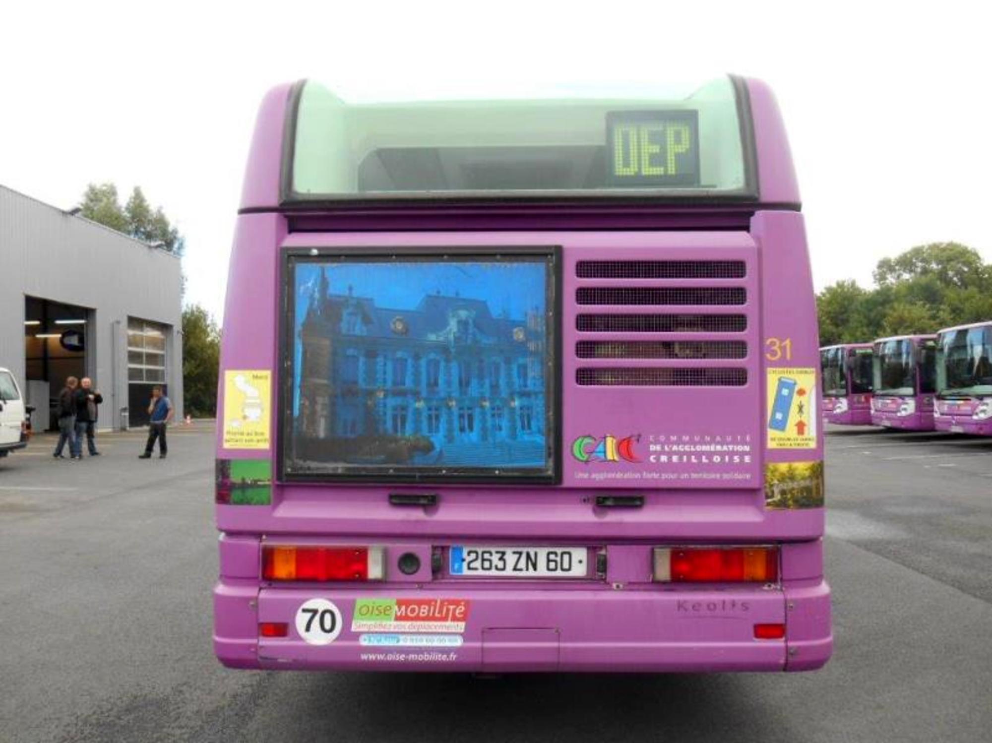 bus renault agora standard car bus d 39 occasion aux ench res agorastore. Black Bedroom Furniture Sets. Home Design Ideas