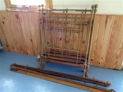 Image du produit: Structure de lit ancien 90 cm