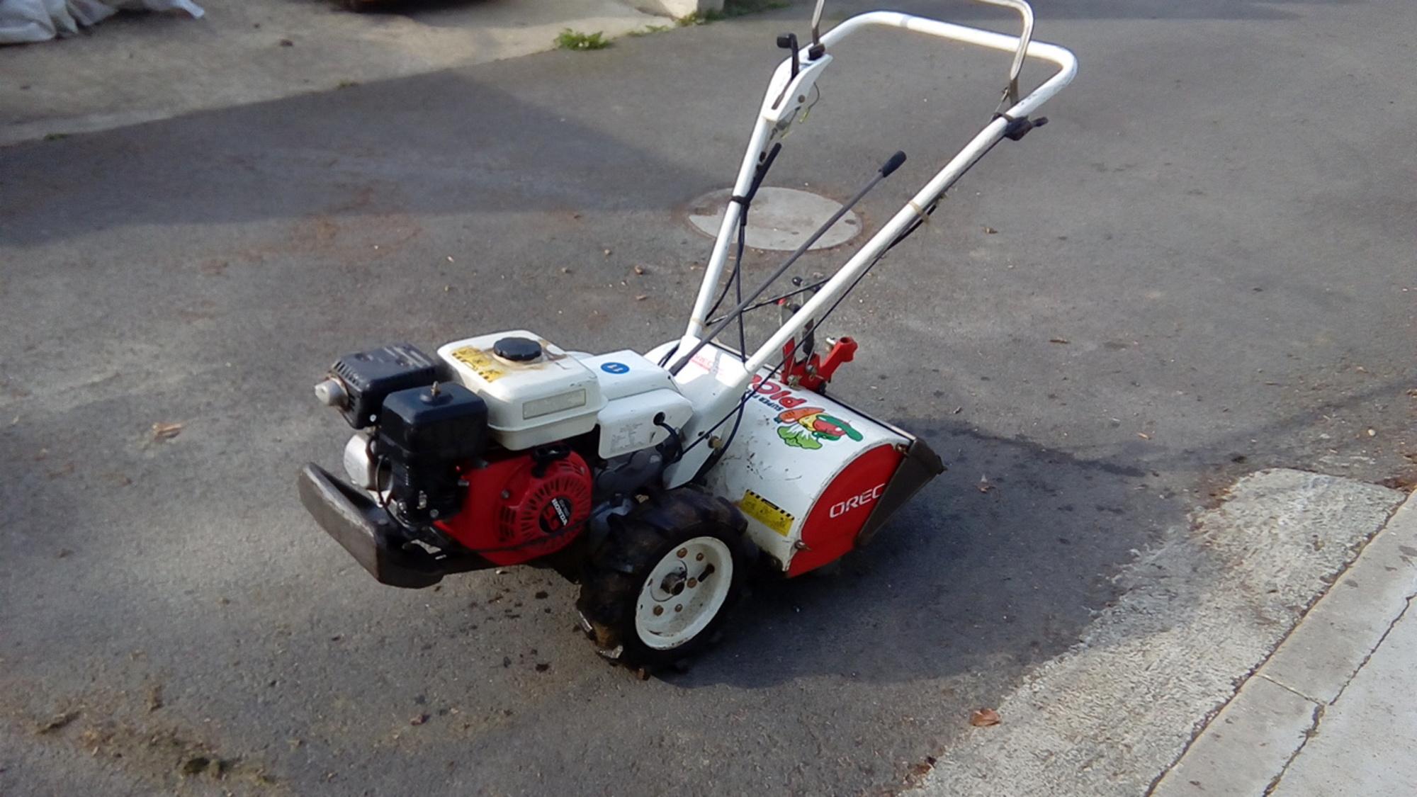 motoculteur  motofraise orec pico