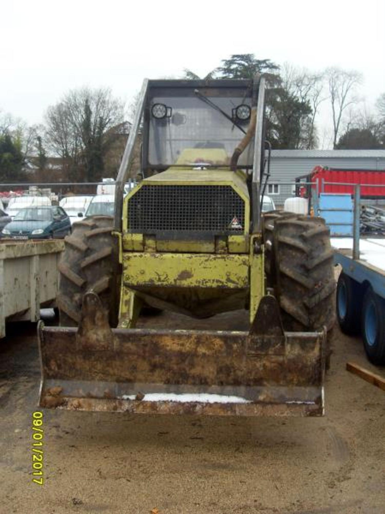 tracteur forestier occasion agrip